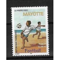 Timbre de Mayotte - Numéro 101 - Neuf sans Charnière