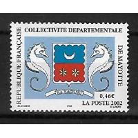 Timbre de Mayotte - Numéro 111 - Neuf sans Charnière