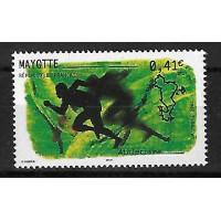 Timbre de Mayotte - Numéro 128 - Neuf sans charnière
