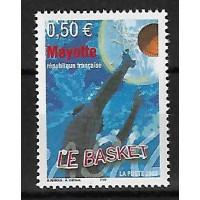 Timbre de Mayotte - Numéro 148 - Neuf sans charnière