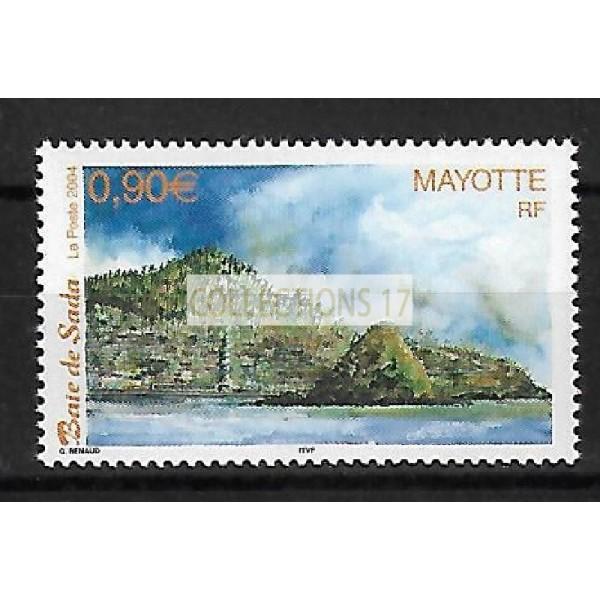 Timbre de Mayotte - Numéro 150 à 152 - Neuf sans charnière