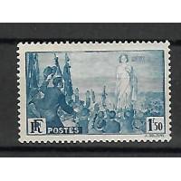 Timbre de France - Numéro 328 - Neuf avec Charnière