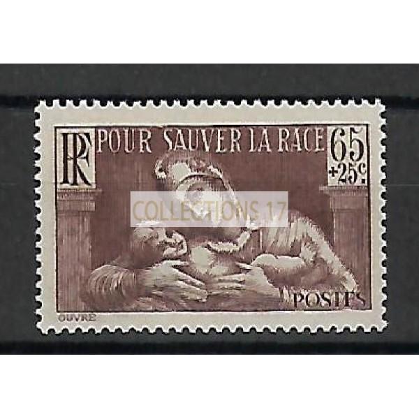 Timbre de France - Numéro 356 - Neuf avec Charnière