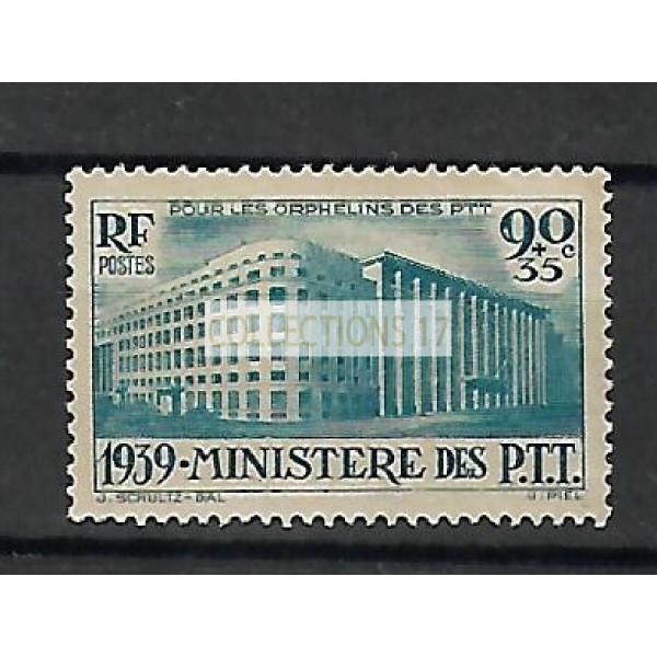 Timbre de France - Numéro 424 - Neuf avec Charnière