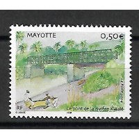 Timbre de Mayotte - Numéro 166 - Neuf sans Charnière