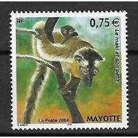Timbre de Mayotte - Numéro 167 - Neuf sans Charnière