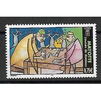 Timbre de Mayotte - Numéro 169 - Neuf sans Charnière