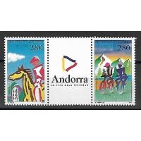 Andorre - Numéro 450A - Neuf sans Charnière