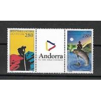 Andorre - Numéro 450 B - Neuf sans Charnière