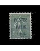 Timbres de France n°1 à 106 Neuf, Oblitéré, Charnière, Gomme
