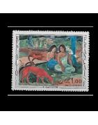 Timbre de France numéro 1230 à 1916 Neuf, Oblitéré, Charnière, Gomme