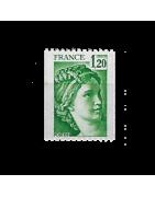 Timbre de France numéro 1917 à 2491 Neuf, Oblitéré, Charnière, Gomme