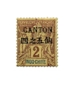 Ventes de Timbres sur les Anciennes Colonies Françaises - Canton, Chine, Pak-Hoi...