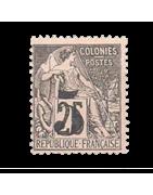 Ventes de Timbres sur les Anciennes Colonies Françaises - Cochinchine, Chine, Dahomey...