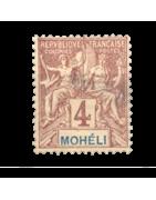 Ventes de Timbres sur les Anciennes Colonies Françaises - Mohéli