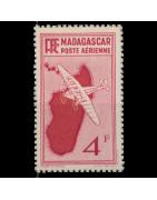 Vente de Timbres de Collection - Madagascar - Anciennes Colonies Françaises