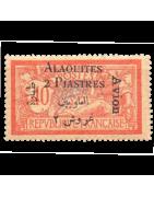 Ventes de Timbres sur les Anciennes Colonies Françaises - Alaouites, Chine, Mohéli, Pakhoi...