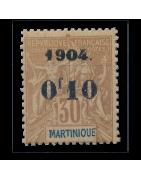 Ventes de Timbres sur les Anciennes Colonies Françaises- Martinique...