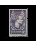 Timbre de France numéro 301 à 469 Neuf, Oblitéré, Charnière, Gomme
