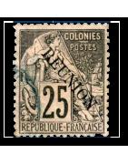 Ventes de Timbres sur les Anciennes Colonies Françaises - Réunion, Madagascar, SPM...