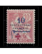 Ventes de Timbres sur les Anciennes Colonies Françaises - Maroc