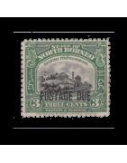 Timbre de Bornéo du Nord/Sud Neuf, Oblitéré, avec charnière