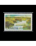 Timbre du Canada Neuf, Oblitéré, Avec charnière