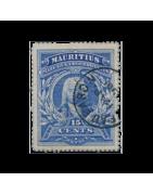 Timbre de l'Ile Maurice Neuf, Oblitéré, Charnière, Gomme