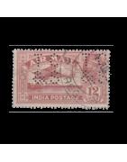 Timbre de l'Inde Anglaise Neuf, Oblitéré, Charnière, Gomme