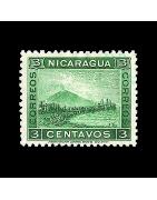 Timbre du Nicaragua Neuf, Oblitéré, Charnière, Gomme
