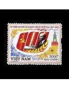 Timbre du Vietnam Neuf, Oblitéré, Charnière, Gomme