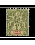 Ventes de Timbres sur les Anciennes Colonies Françaises - Grande Comore, Soudan, Martinique...
