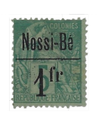 Ventes de Timbres sur les Anciennes Colonies Françaises - Nossi-Bé....