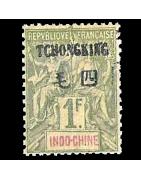 Ventes de Timbres sur les Anciennes Colonies Françaises - Tchong-King, chine, cochinchine, Hoi-Hao...