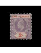Timbres Rhodesie , Cote d'or Terre Neuve Oblitéré, Charnière, Neuf