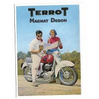 Carte Postale 10x15 - moto terrot - Centenaire Editions