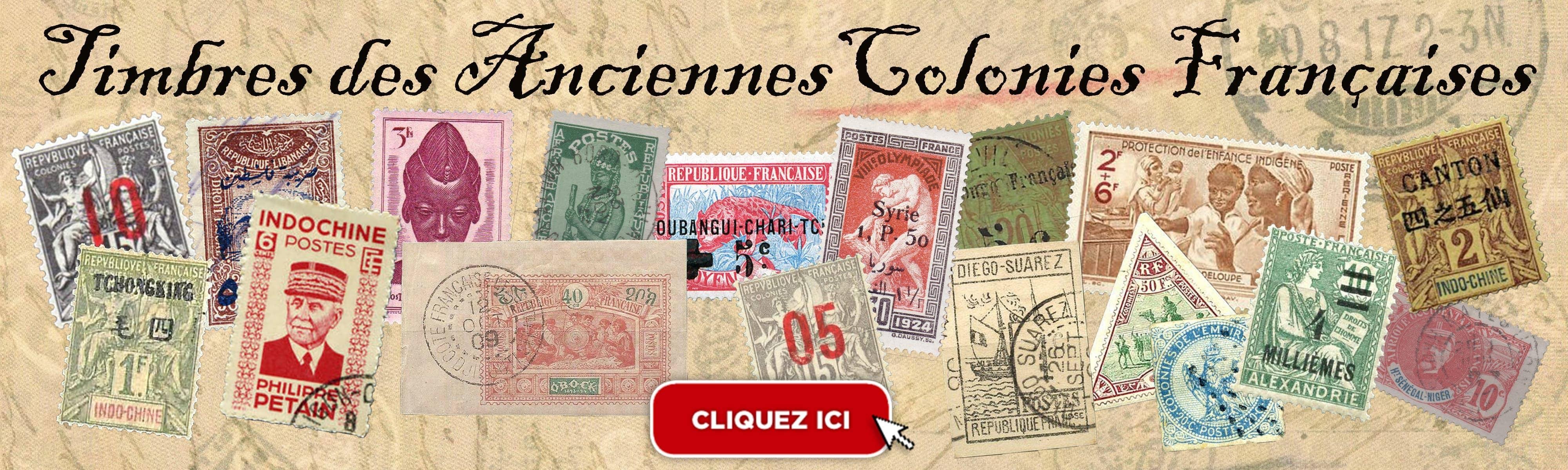 timbres-des-anciennes-colonies-françaises-passion-collection-la-rochelle vente en ligne, livraison rapide et frais de ports gratuits à partir de 10€.